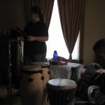 Singers and perc