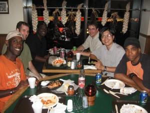 Fun conversations about Trinidad and Korea!