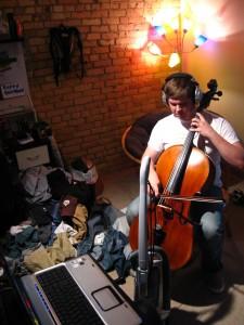 Play, play, play the breathtakingly lovely cello parts.