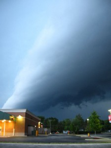 That is a wall of solid storm comin atcha.