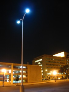 Unfortunately, in pictures they kind of look exactly like normal streetlights.