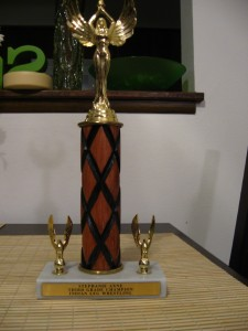 The Coolest Trophy of All Time