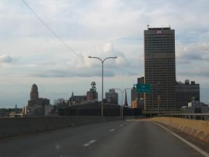 Coming up on Gotham City, I mean Buffalo.