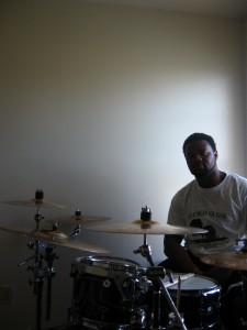 Arsean, drummer.