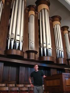 Christian next to a vital organ.