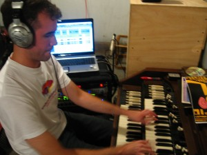 Recording some sick organ sounds!