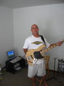 DC, bassist.