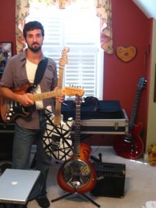 Brad Tretola, guitarist extraordinaire.