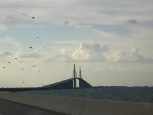 The alleged huge bridge.