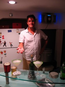Mike the Mojito-making maestro.