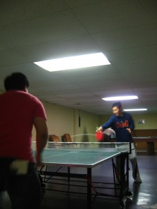 The Omaha Asian Ping Pong Championship underway.