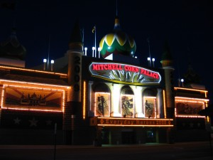 The Corn Palace is only partially either corn or palace.