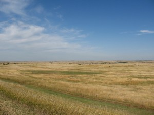 In South Dakota, the world is flat.