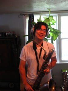 Peter Chan, Saxophonist.