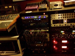 Some Rack Gear in the now misnamed Empty House Studio